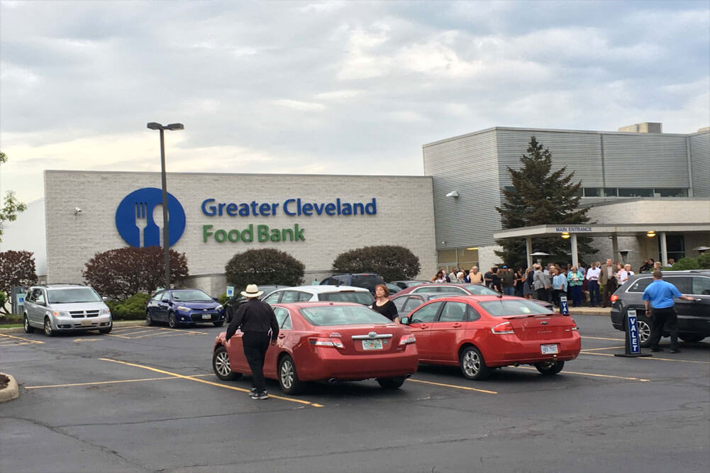 Thank You to Greater Cleveland Food Bank for Hosting a Wonderful Event